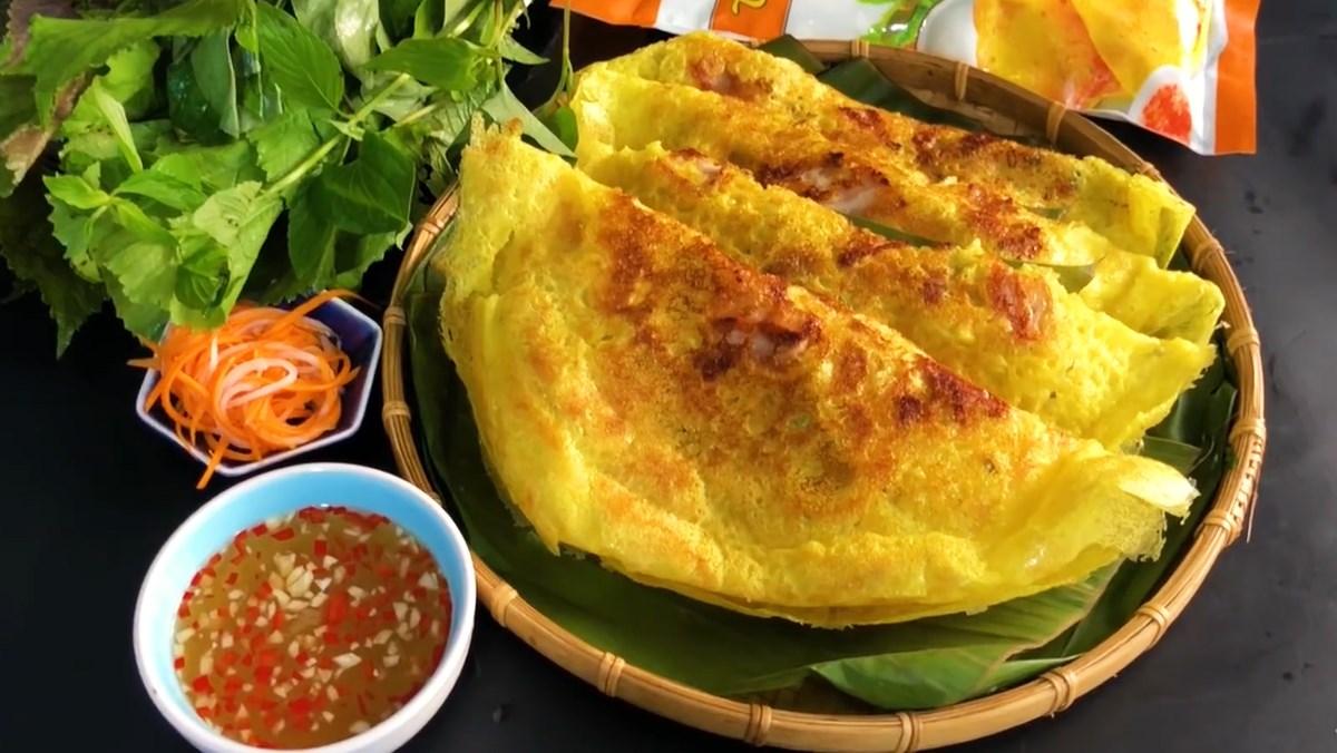 Banh Xeo – la crêpe vietnamienne