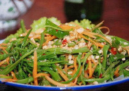 Salade de liseron d'eau