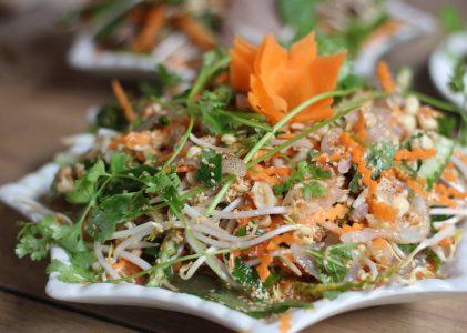 Salade de méduse croquante
