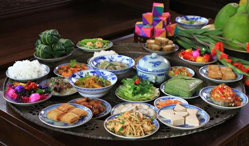 Les plats traditionnels de la fête du Têt vietnamien