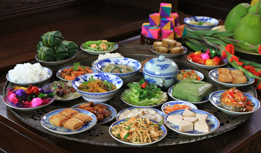 Tet fete traditionel au Vietnam